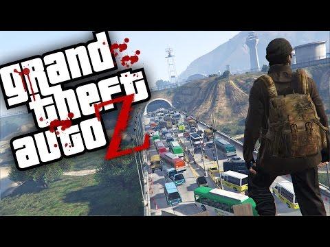 GTA V ZOMBIES - FORT ZANCUDO É MUITO TENSO   Ep11 (GTA 5 Survival Zombie MOD)