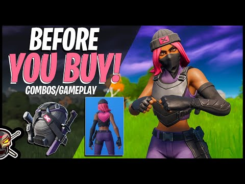 CLASH In Fortnite! Before You Buy | CONTENDER Back Bling | Combos/Gameplay (FNBR)