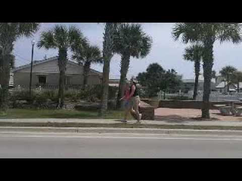 St Augustine Beach Driving on A1A