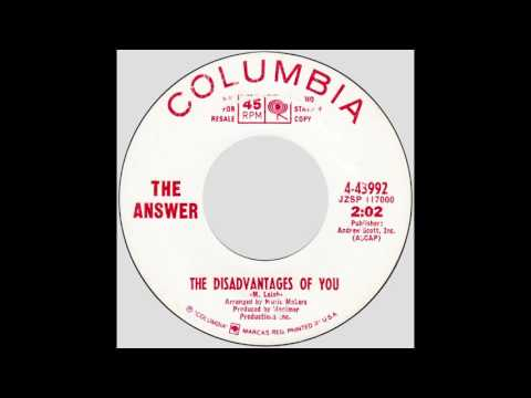 "The Answer – ""The Disadvantages Of You"" (Columbia) 1967"
