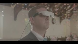 After 15 years, a blind man finally sees his wife walk down the aisle