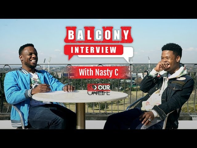 #BalconyInterview (1/2): Nasty C On Importance Of Reading, New Purpose & Closeness With His Fans