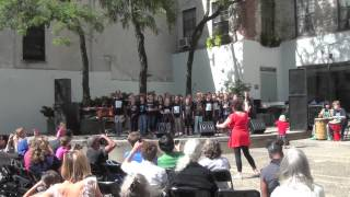PS 41 Song Birds at Westbeth Kids Music Fest. - Ebony & Ivory