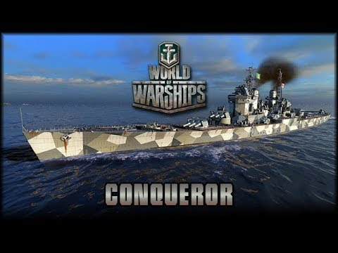 World of Warships - HMS Conqueror - Tier X [ deutsch 🐄 gameplay ]