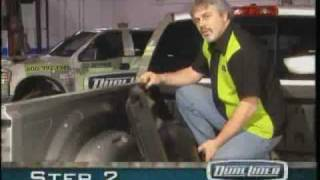 DualLiner - Dodge 2002-2007 bolt-in tie-down install video