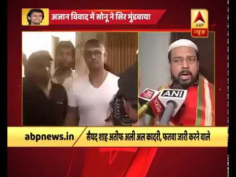 Sonu Nigam keeps his word, shaves his head after West Bengal Maulavi issues fatwa