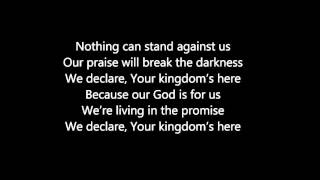 elevation worship-shine a light(lyrics video)