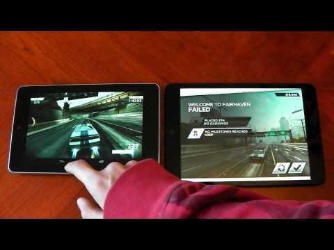 IPad Mini Vs Nexus 7 - Gaming Performance - HD