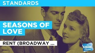 Download Seasons Of Love in the Style of