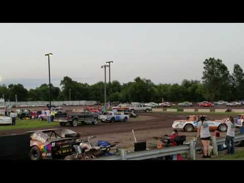Dylan Fitzpatrick 6/24/16 Rapid Speedway feature