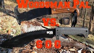 Woodsman Pal vs SOG Kukri review
