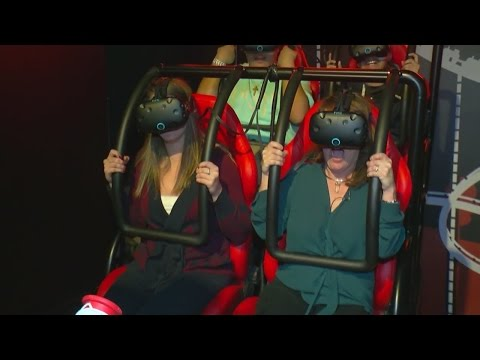 Virtual Reality Arcade 'Smaaash' Debuts At MOA