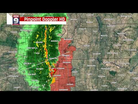 Memphis Severe Weather Coverage 11-17-2015