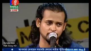 new bangla folk song 2016   helay helay karjo nosto re  by Ashik360p