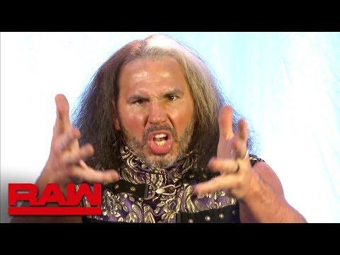 'Woken' Matt Hardy reacts to Goldust's WrestleMania announcement: Raw, April 2, 2018