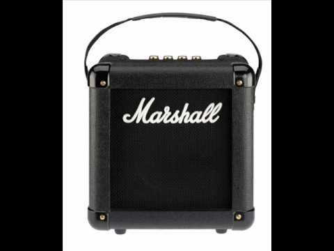 Marshall MG2FX short demo