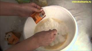 Рецепт- Сдобное-дрожжевое тесто от videokulinaria.ru