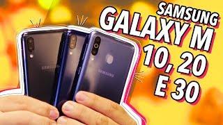 GALAXY M: MAIS TRÊS SMARTPHONES DA SAMSUNG NO BRASIL!