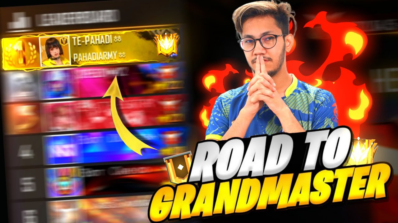 ROAD TO GRANDMASTER IN 2 HRS 🤣