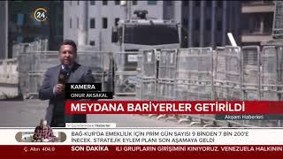 İstanbul'da 1 Mayıs tedbirleri