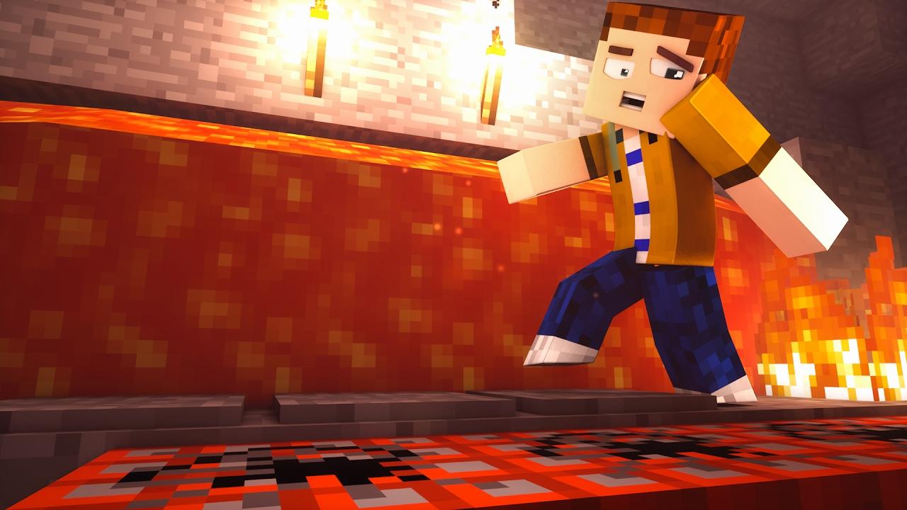 EINFACHE FALLEN Die SPIELER KILLEN YouTube - Minecraft spieler fallen