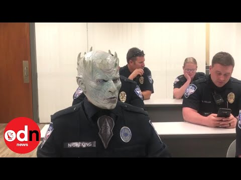 Game of Thrones' Night King joins Texas police department