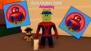 800 ROBUX SPIDERMAN costume! (Roblox Halloween)
