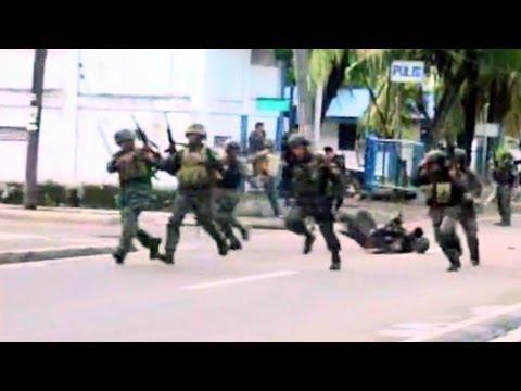 ZAMBOANGA SIEGE WAR BLOOPERS SWAT PNP ARMY