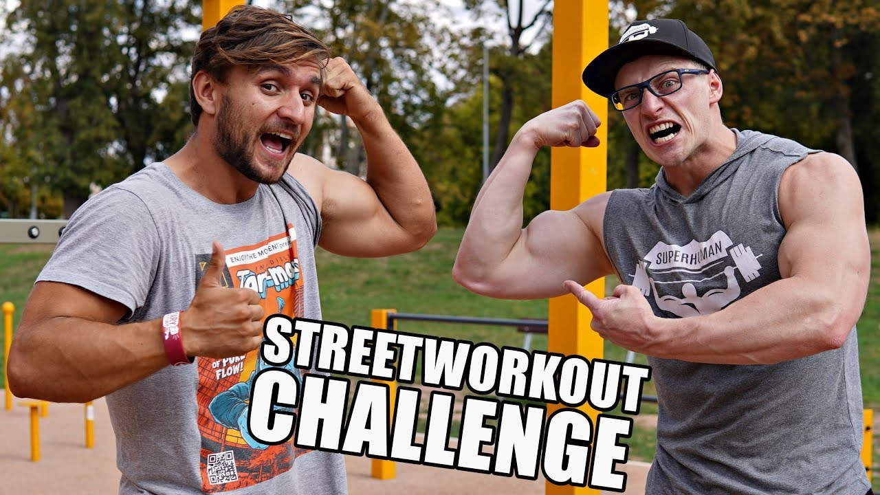 TARY A ALEŠ - STREETWORKOUT CHALLENGE
