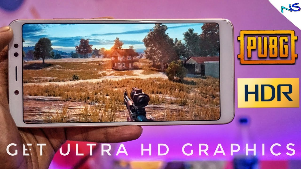 GET ULTRA HDR GRAPHICS IN PUBG MOBILE