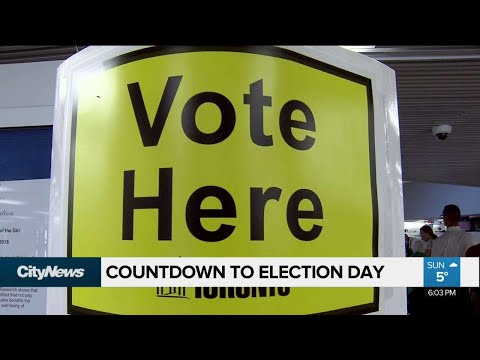 Toronto voters prepare to cast their ballots