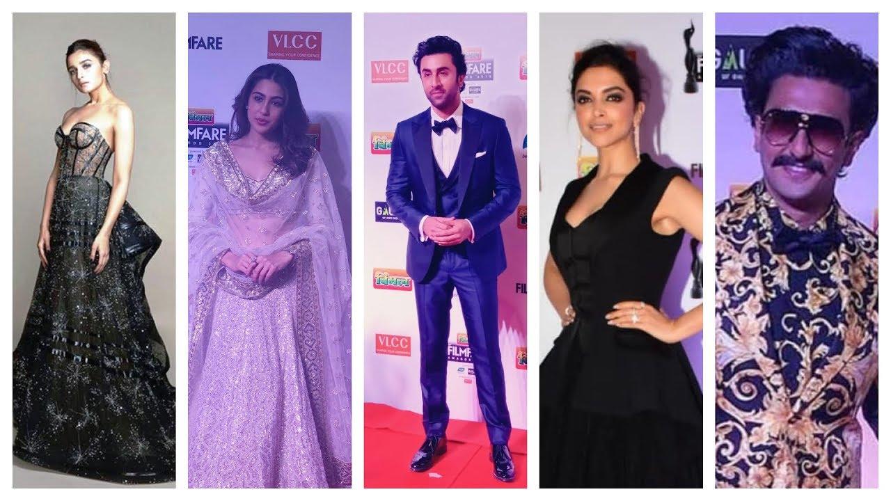 Bollywood celebs arrive at the 64th Vimal Elaichi Filmfare Awards 2019