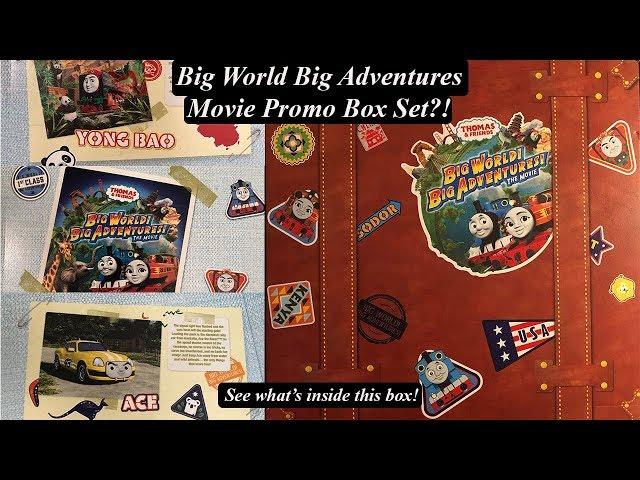 Thomas and Friends Big World! Big Adventures!  Official Movie Trackmaster Box Set!