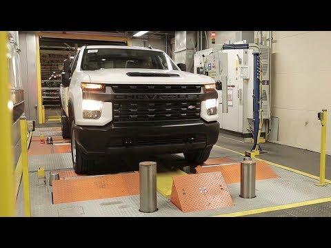2020 Chevrolet Silverado HD - PRODUCTION