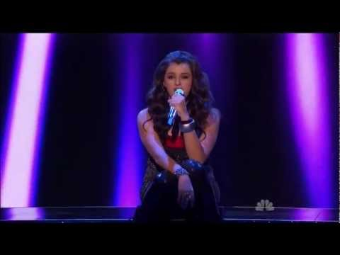 [Real Voice] Rebecca Black - Friday [@ america's got talent] - live