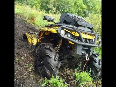 """2014 Can-Am Outlander 1000 XT 28"""" Outlaw 2s Looney Tuned Exhaust"""