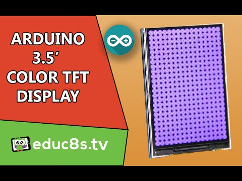 "Arduino Tutorial: 3.5"" Color TFT Display ILI9481 On Arduino Uno And Mega From Banggood.com"