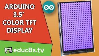 Arduino Tutorial: 3.5'' Color TFT display ILI9481 on Arduino Uno and Mega from Banggood.com