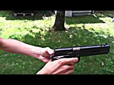 pistolet a bille puissant 2 joules youtube. Black Bedroom Furniture Sets. Home Design Ideas