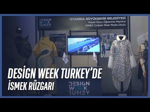 İSMEK Moda Öğrencilerin Design Week Türkiye'de Tasarımları Dikkat Çekiyor