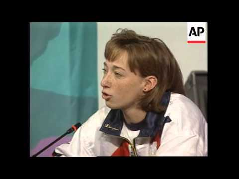 USA: ATLANTA: US OLYMPIC GOLD MEDALIST'S PRESS CONFERENCE