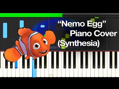Finding Nemo - Nemo Egg Piano Cover (Synthesia)