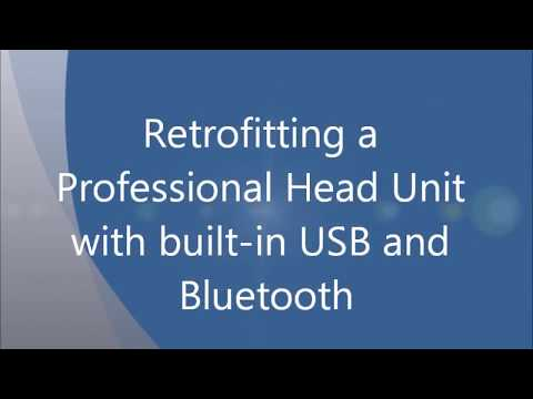 retrofitting a professional head unit with usb and. Black Bedroom Furniture Sets. Home Design Ideas