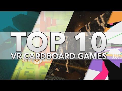 Top 10 Best Google Cardboard VR Games [2016]