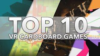 Top 10 Best Google Cardboard Vr Games  2016