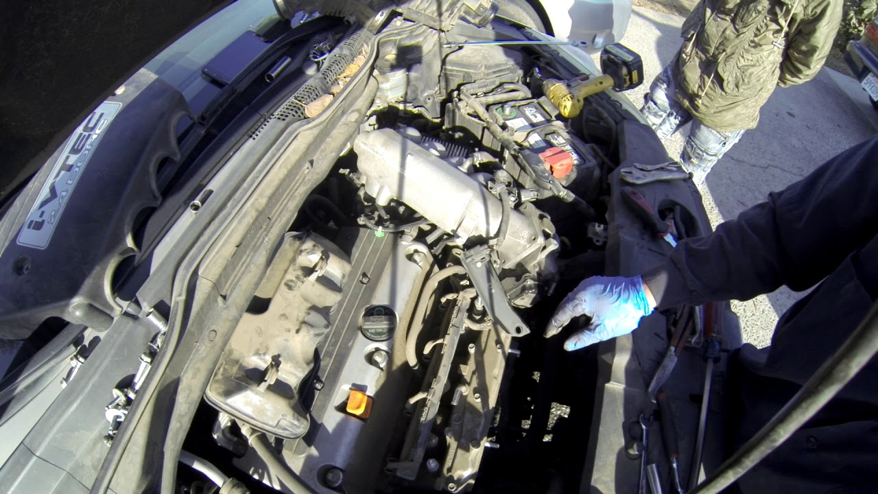 2009 honda crv or k series starter diagnoses and replacement youtube2009 honda crv or k series starter diagnoses and replacement