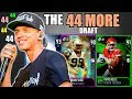 THE 44 MORE DRAFT! PLAYER WITH THE NUMBER 44 OR MORE IN EVERY ROUND! Madden 18 Draft Champions