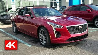 2019 CADILLAC CT6 SEDAN SPORT 4K-IN DEPTH WALKAROUND STARTUP INTERIOR EXTERIOR & TECH