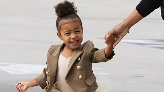 EXCLUSIVE - North West Tells Photogs At Ballet: