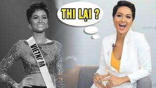 Không hài lòng với TOP 5 Miss Universe, Hoa hậu H'Hen Niê muốn tiếp tục thi nhan sắc?